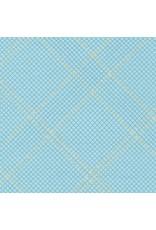 Robert Kaufman Collection CF - Tartan Single Border Dusty Blue