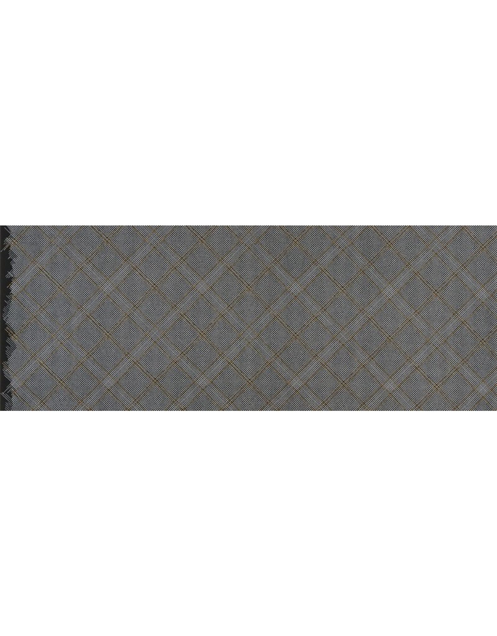 Robert Kaufman Collection CF - Tartan Single Border Black