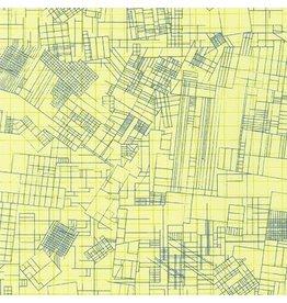 Robert Kaufman Collection CF - Euclidean Yellow