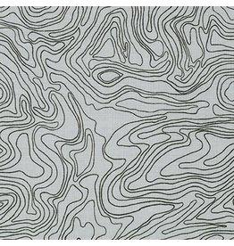 Robert Kaufman Collection CF - Contour Charcoal