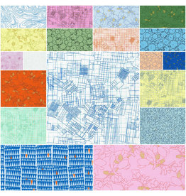 Robert Kaufman Collection CF - Fat Quarter bundel Kleur