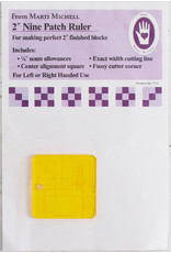 Marti Michell 2 inch Nine Patch Ruler