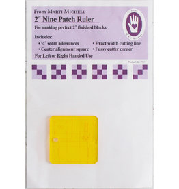 2 inch Nine Patch Ruler