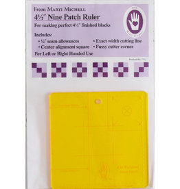 4,5 inch Nine Patch Ruler