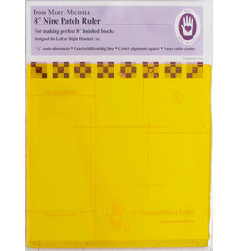 Marti Michell 8 inch Nine Patch Ruler