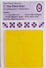 Marti Michell 5 inch Nine Patch Ruler