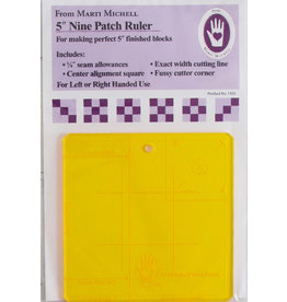 5 inch Nine Patch Ruler