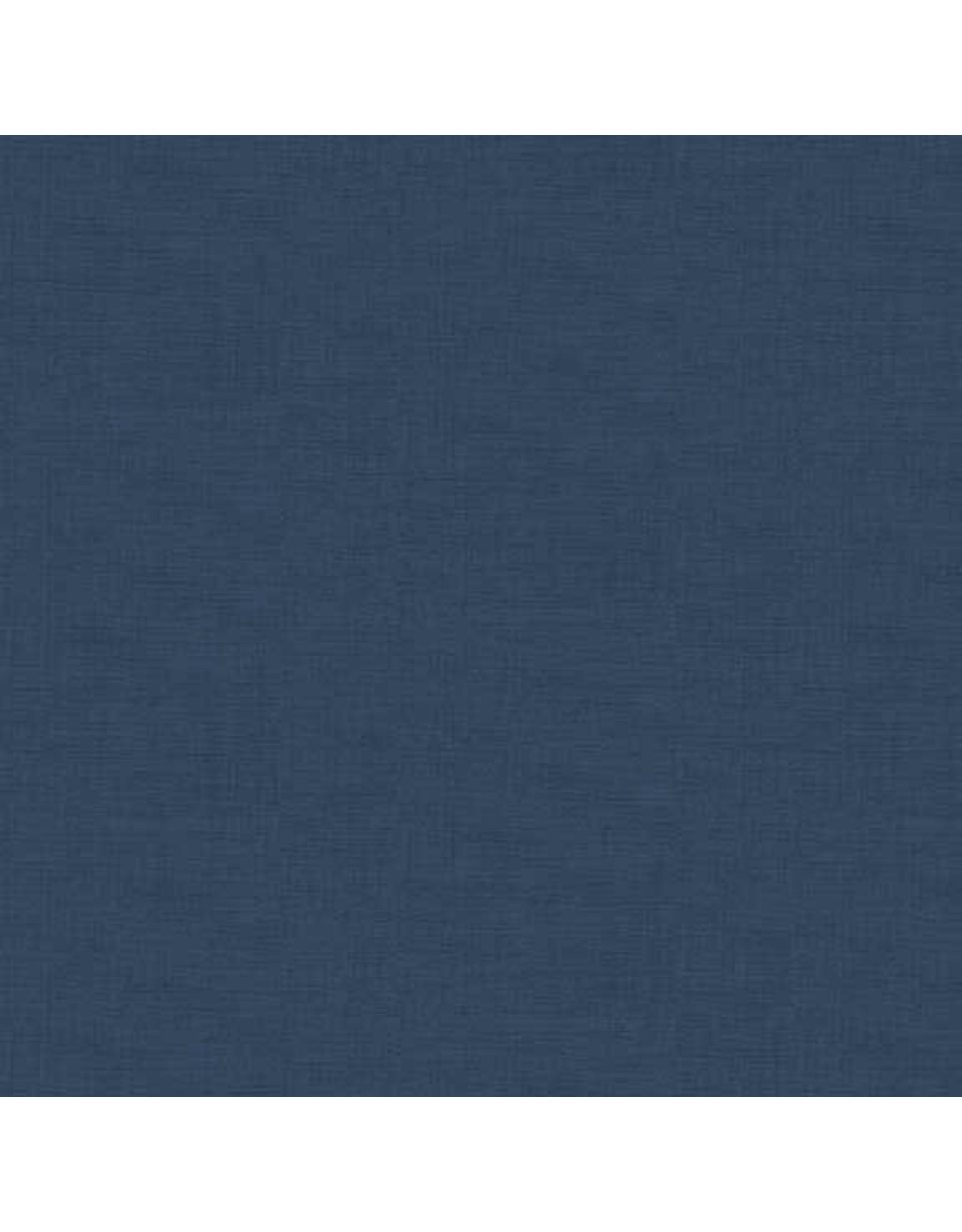 Makower UK Linen Texture - Bluestone