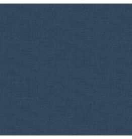 Makower UK Linen Texture - Bluestone