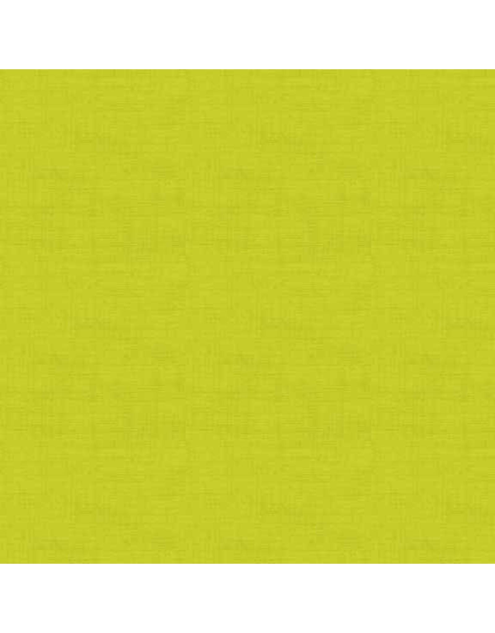 Makower UK Linen Texture - Lime