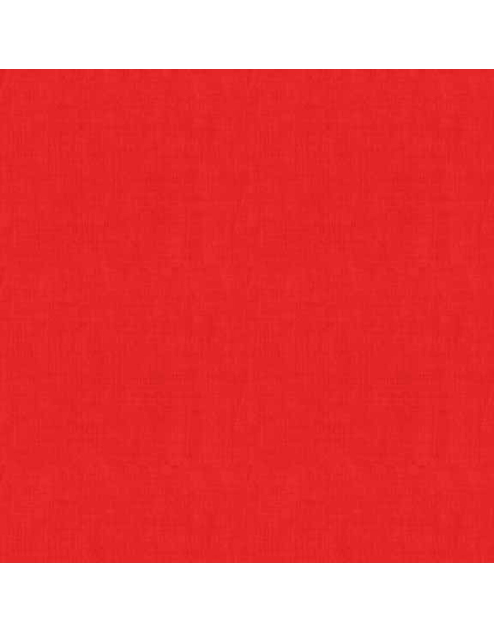 Makower UK Linen Texture - Red