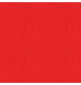 Makower UK Linen Texture - Red
