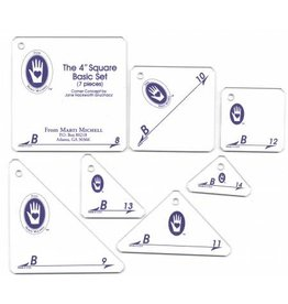 Set B - 4 inch Basic Template Set