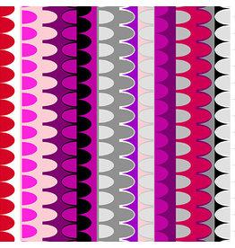 Contempo Gridwork - Arches Fuchsia