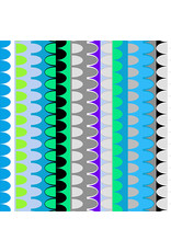 Contempo Gridwork - Arches Turquoise