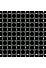 Contempo Gridwork - Circle Grid Black