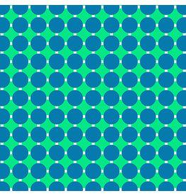 Contempo Gridwork - Circle Grid Caribbean
