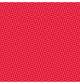 Contempo Gridwork - Hourglass Red