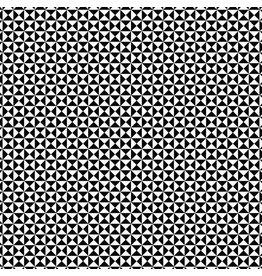 Contempo Gridwork - Hourglass Black White