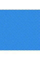 Contempo Gridwork - Hourglass Blue