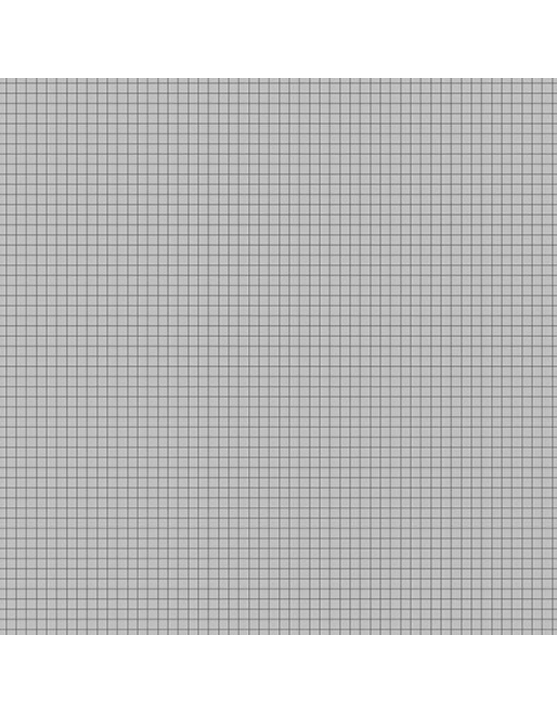 Contempo Gridwork - Square Grid Gray