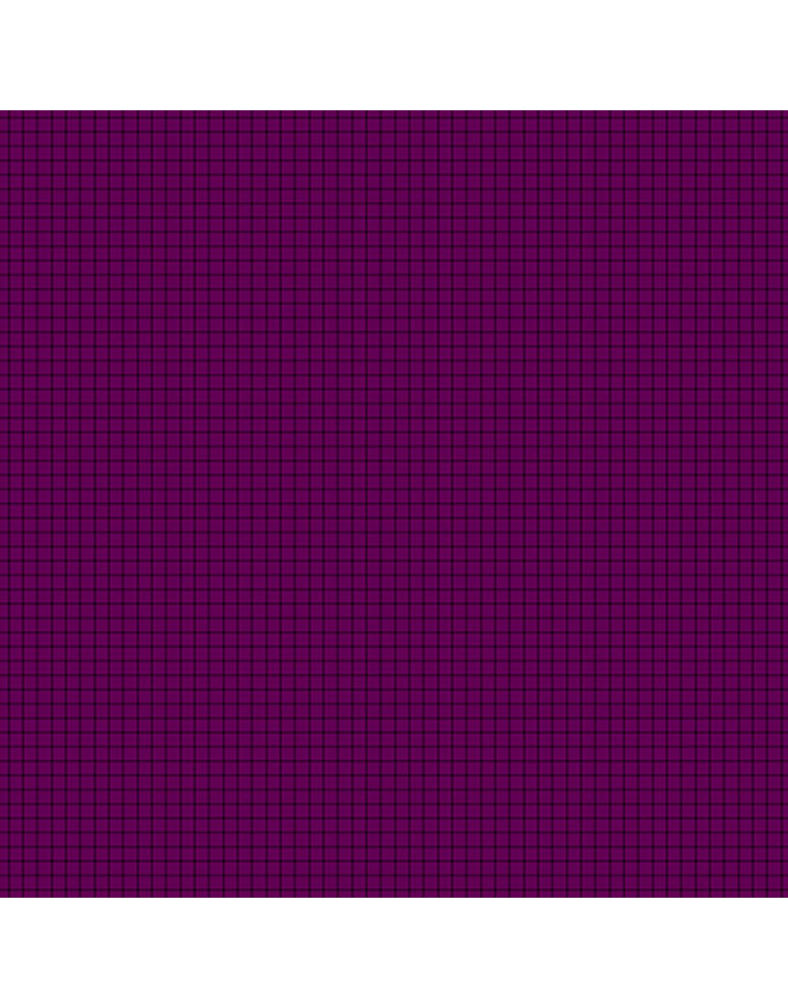 Contempo Gridwork - Square Grid Grape
