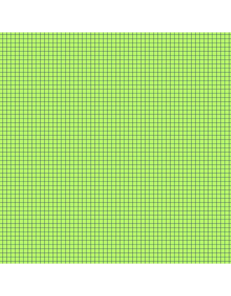 Contempo Gridwork - Square Grid Lime