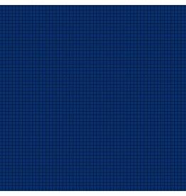 Contempo Gridwork - Square Grid Navy