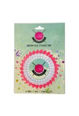 Tula Pink Hardware Unicorn Head Straight Pins