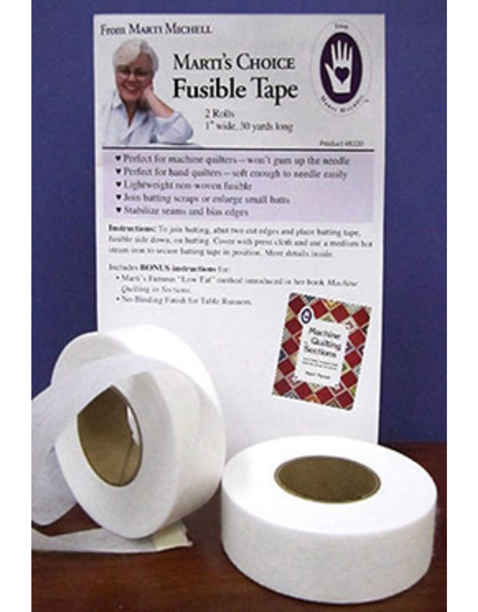 Marti's Choice - Fusible Tape - 1 inch