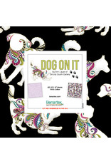 Benartex Ann Lauer - Dog On It - 10 x 10 Pack