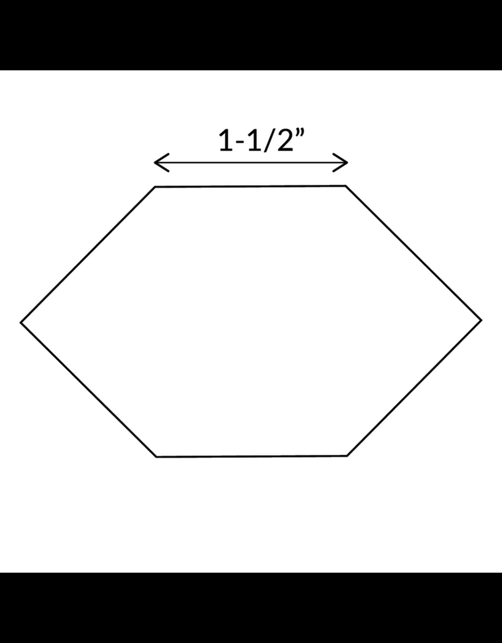 Paper Pieces 1-1/2 inch Honeycomb - 25 stuks