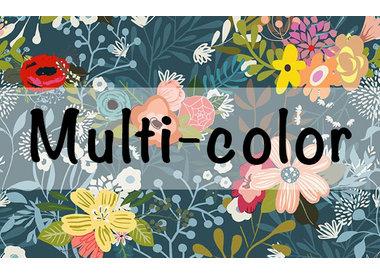 Multi-color stoffen