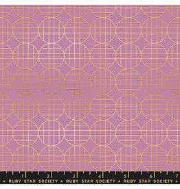 Ruby Star Society Stellar - Moon Grid Pink