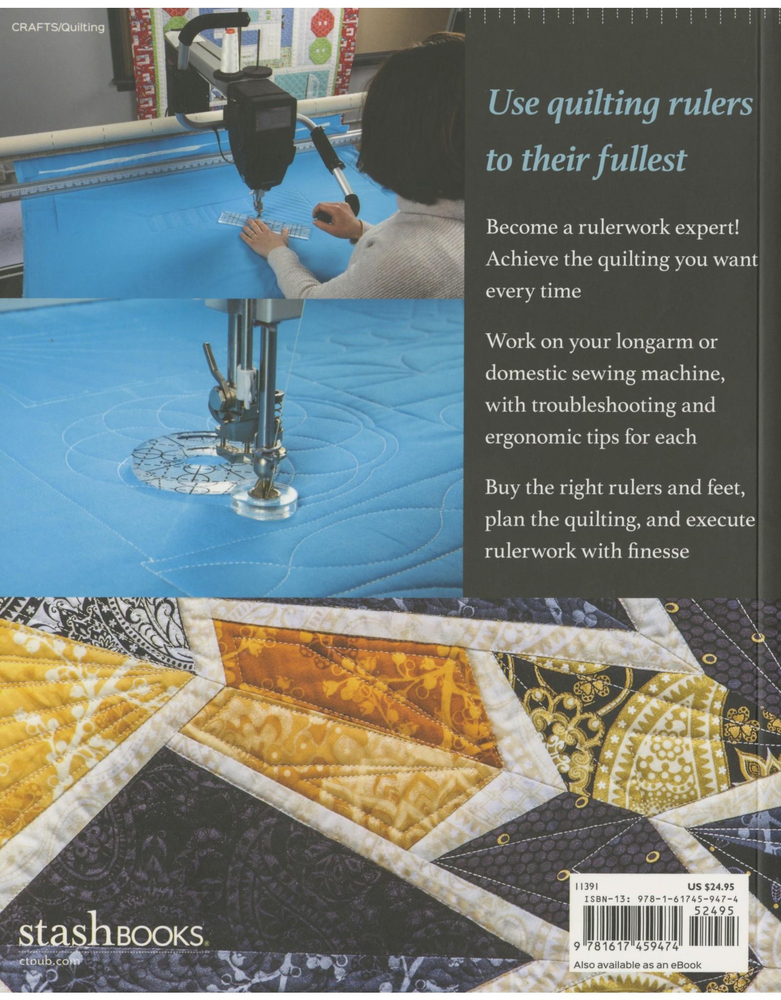 CT Publishing The Ultimate Guide to Rulerwork Quilting - Amanda Murphy