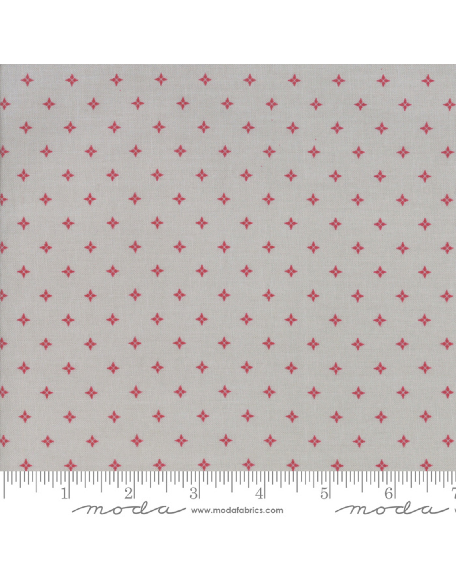 Moda Country Christmas - Twinkle Stars Red
