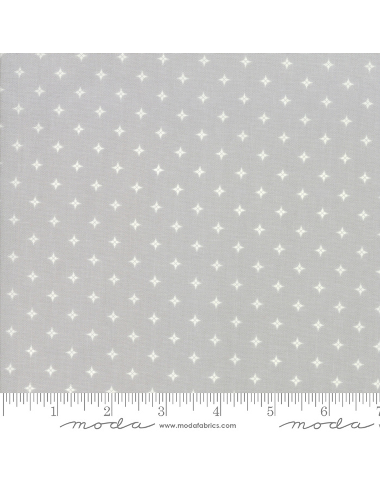 Moda Country Christmas - Twinkle Stars Grey