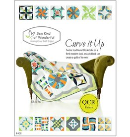 Sew Kind of Wonderful Curve it Up - QCR patroon