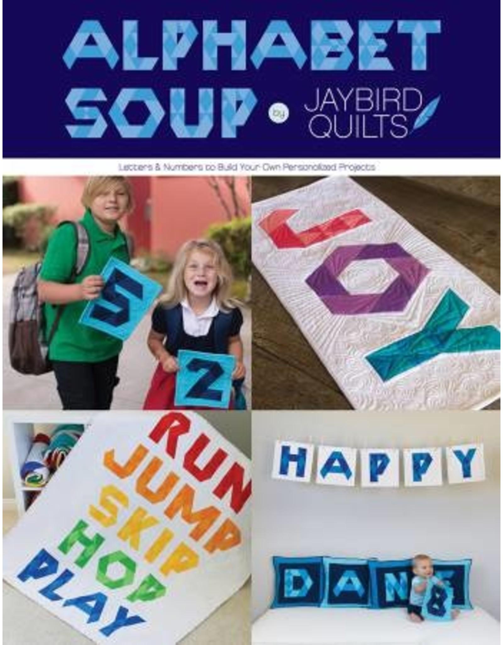 Jaybird Quilts Alphabet Soup - Julie Herman