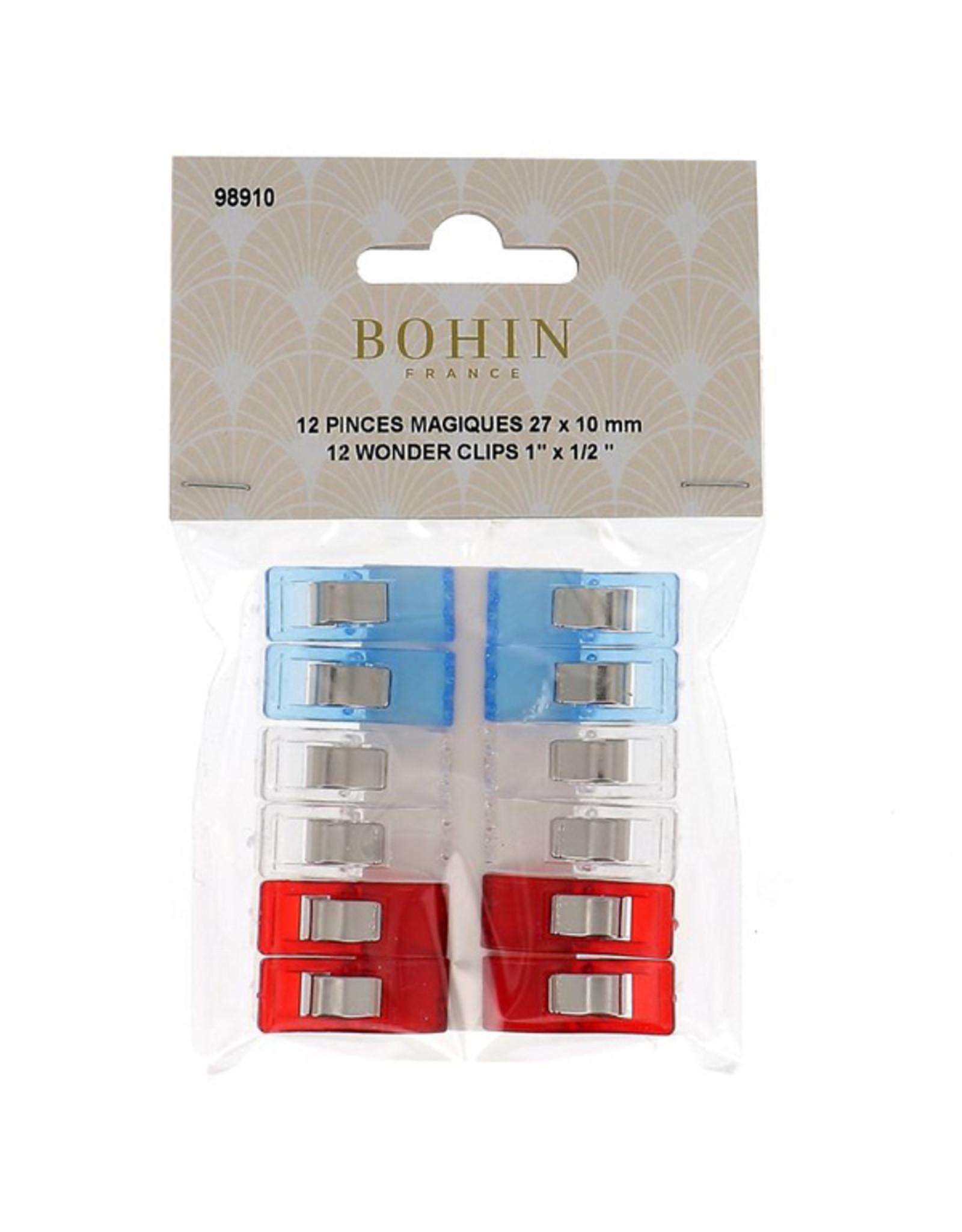 Bohin Wonderclips - 12 stuks