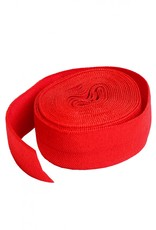 By Annie Fold-Over Elastic - Atom Red
