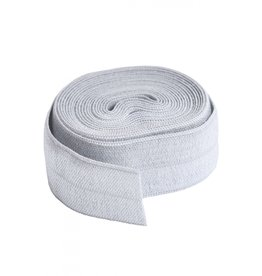 By Annie Fold-Over Elastic - Pewter