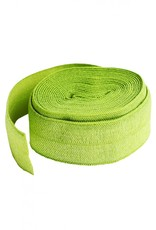 By Annie Fold-Over Elastic - Apple Green