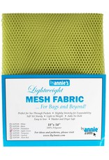 By Annie Mesh Fabric - 18 x 54 inch - Apple Green