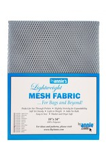 By Annie Mesh Fabric - 18 x 54 inch - Pewter