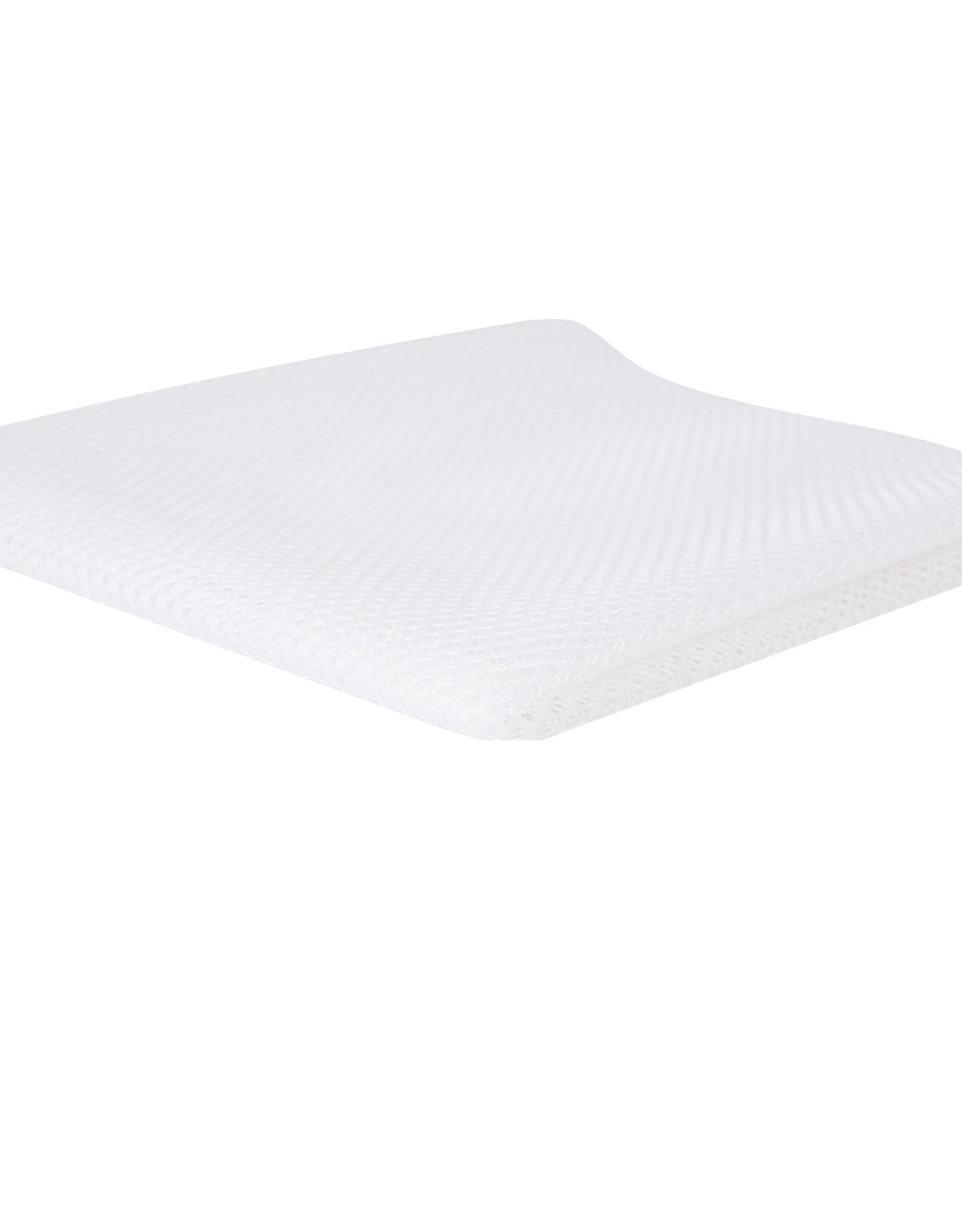 By Annie Mesh Fabric - 18 x 54 inch - White