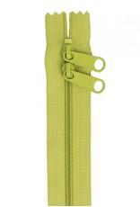 By Annie Handbag Zipper - 40 inch / 101 cm - double slide - Apple Green