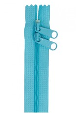 By Annie Handbag Zipper - 40 inch / 101 cm - double slide - Parrot Blue