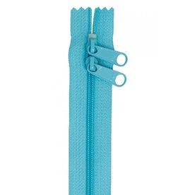 By Annie Handbag Zipper - 40 inch / 101 cm - double slide - Parrot Blue