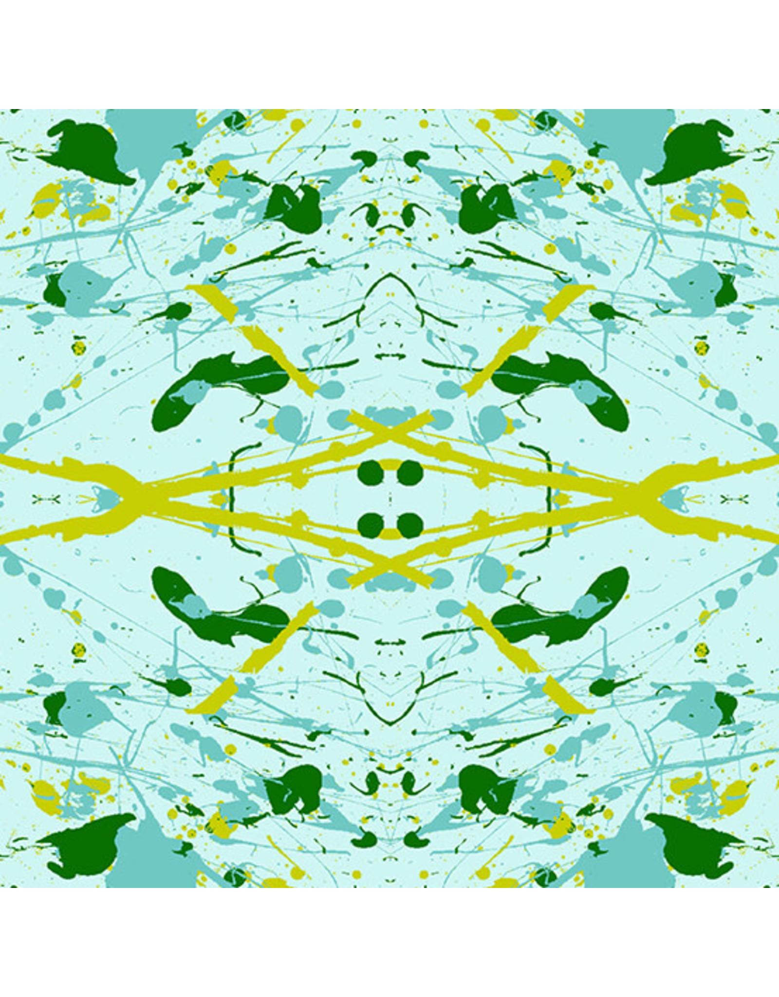 Andover Prism - Splatter Light Teal
